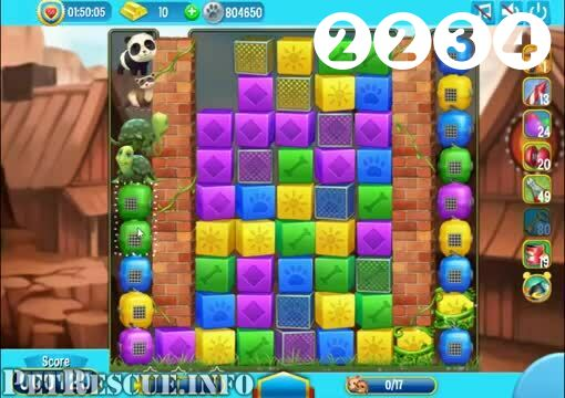 Pet Rescue Saga : Level 2234 – Videos, Cheats, Tips and
