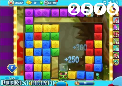 Pet Rescue Saga : Level 2576 – Videos, Cheats, Tips and