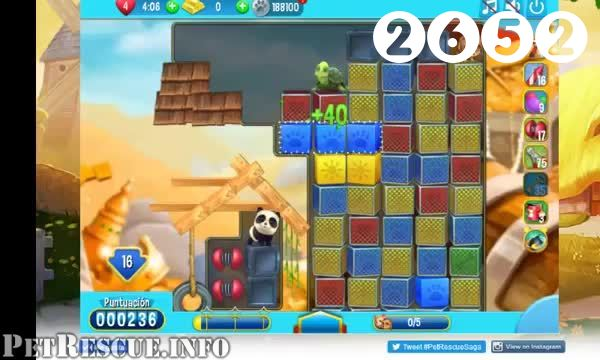 Pet Rescue Saga : Level 2652 – Videos, Cheats, Tips and